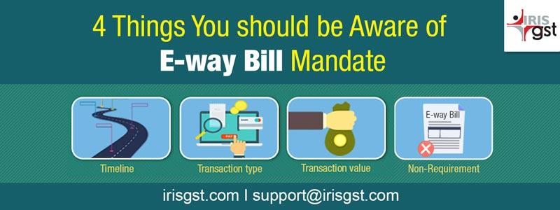 E-way Bill Mandate