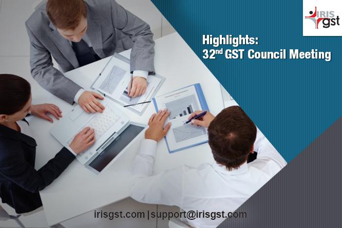 32 GST Council Meeting