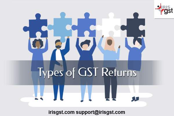 GST Return Forms  Various Types and Who Need to File