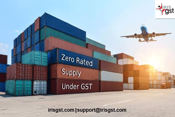 Zero Rated Supply Under GST