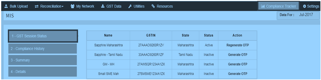 GST Compliance Tracker