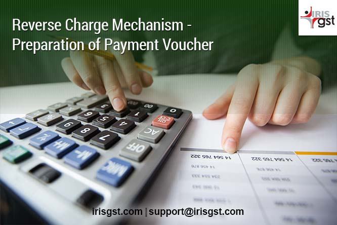 Payment Voucher under Reverse Charge Mechanism (RCM) in GST