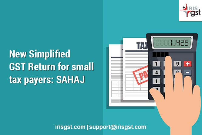 SAHAJ - RET2 - Simplified GST Return