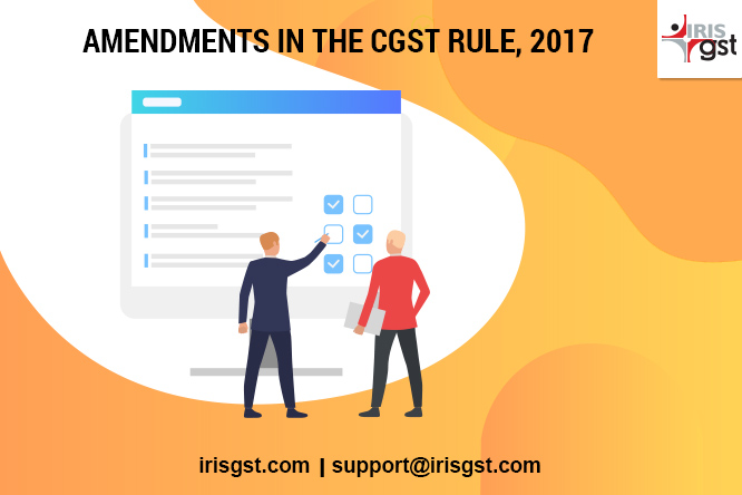 CGST Notification 49/2019 – Updated CGST Rules, 2017 -The Sixth Amendment