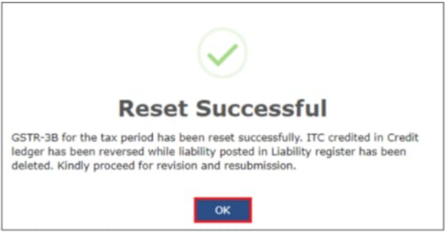 Reset-Successful