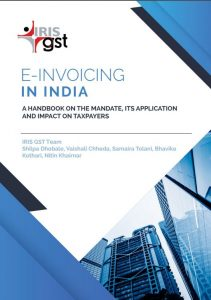 e-book on e-invoicing in india-Front page