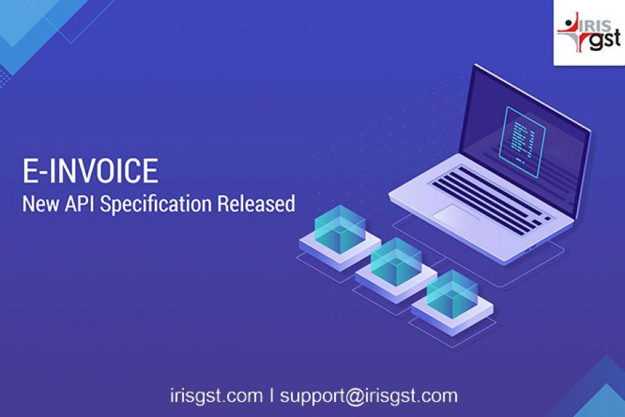 E-invoice New API Specification Released