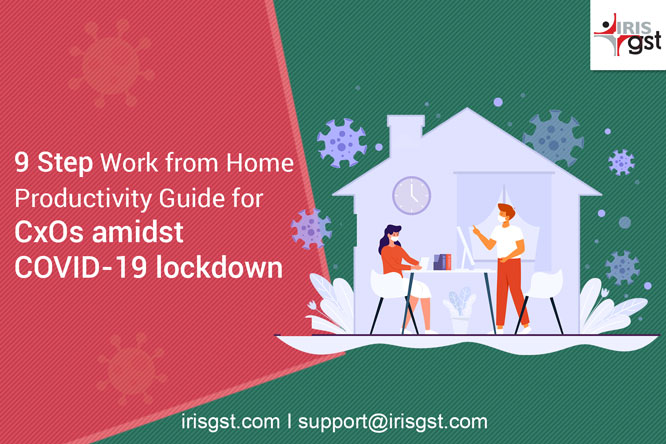 9 Step Work from Home Productivity Guide for CxOs amidst Coronavirus lockdown