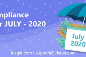 GST Compliance Calendar July 2020