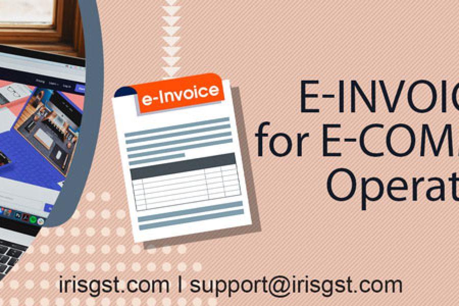 E-invoicing for E-commerce Operators