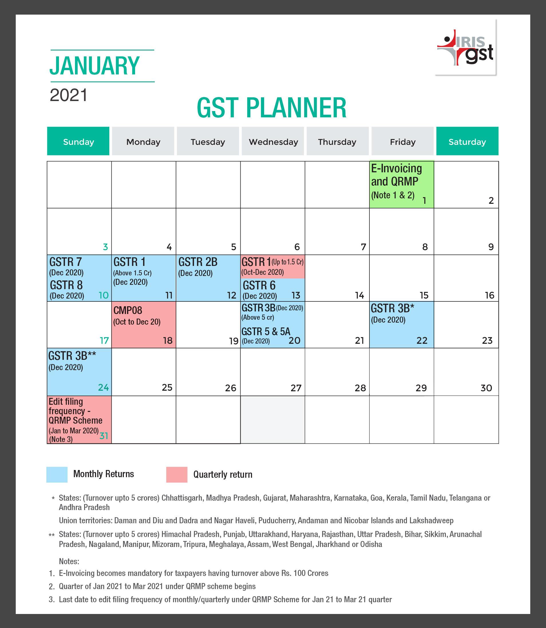 December Compliance Calendar