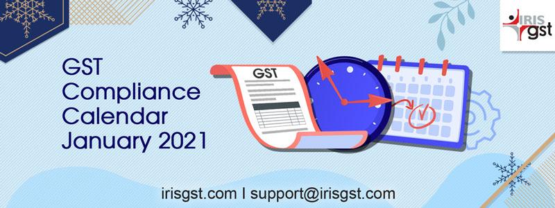 GST Compliance Calendar