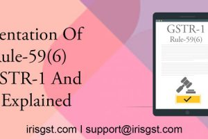 Implementation of Rule-59(6) and HSN with GSTR-1 Filing Explained