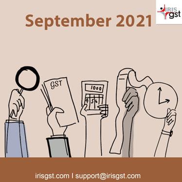 September 2021, GST Newsletter #45